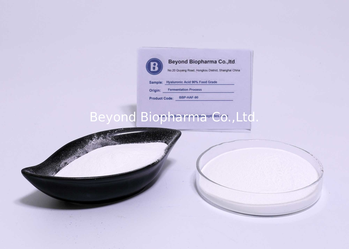 Food Grade Hyaluronic Acid Powder With 90% Assay For Joint Supplements